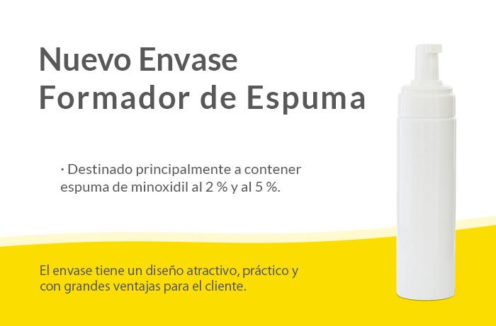 Envase Frasco Espuma GUINAMA