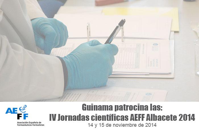 Guinama patrocina las IV jornadas AEFF de Albacete