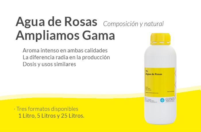Agua de Rosas GUINAMA