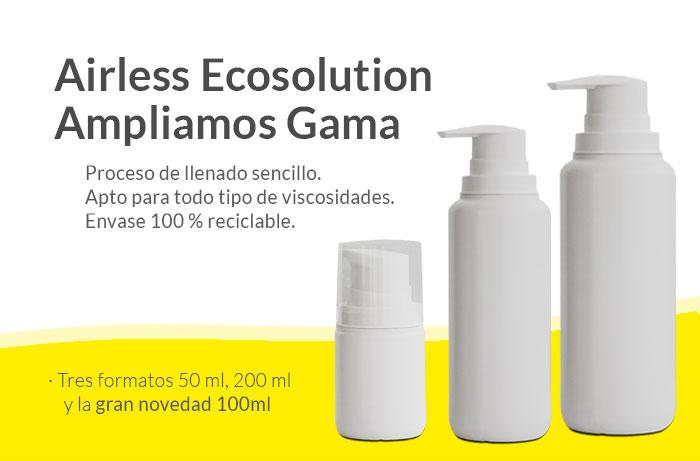 Gama Completa de Airless Ecosolution GUINAMA