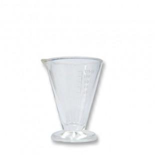 Copa 250ml cristal graduado