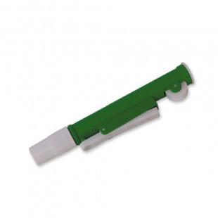 Pipeta aspirador 0-10ml verde com-pi
