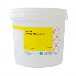 capsulas 000 incoloro