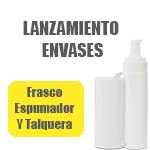 Lanzamiento Nuevo Envase Talquera y Frasco Espumador