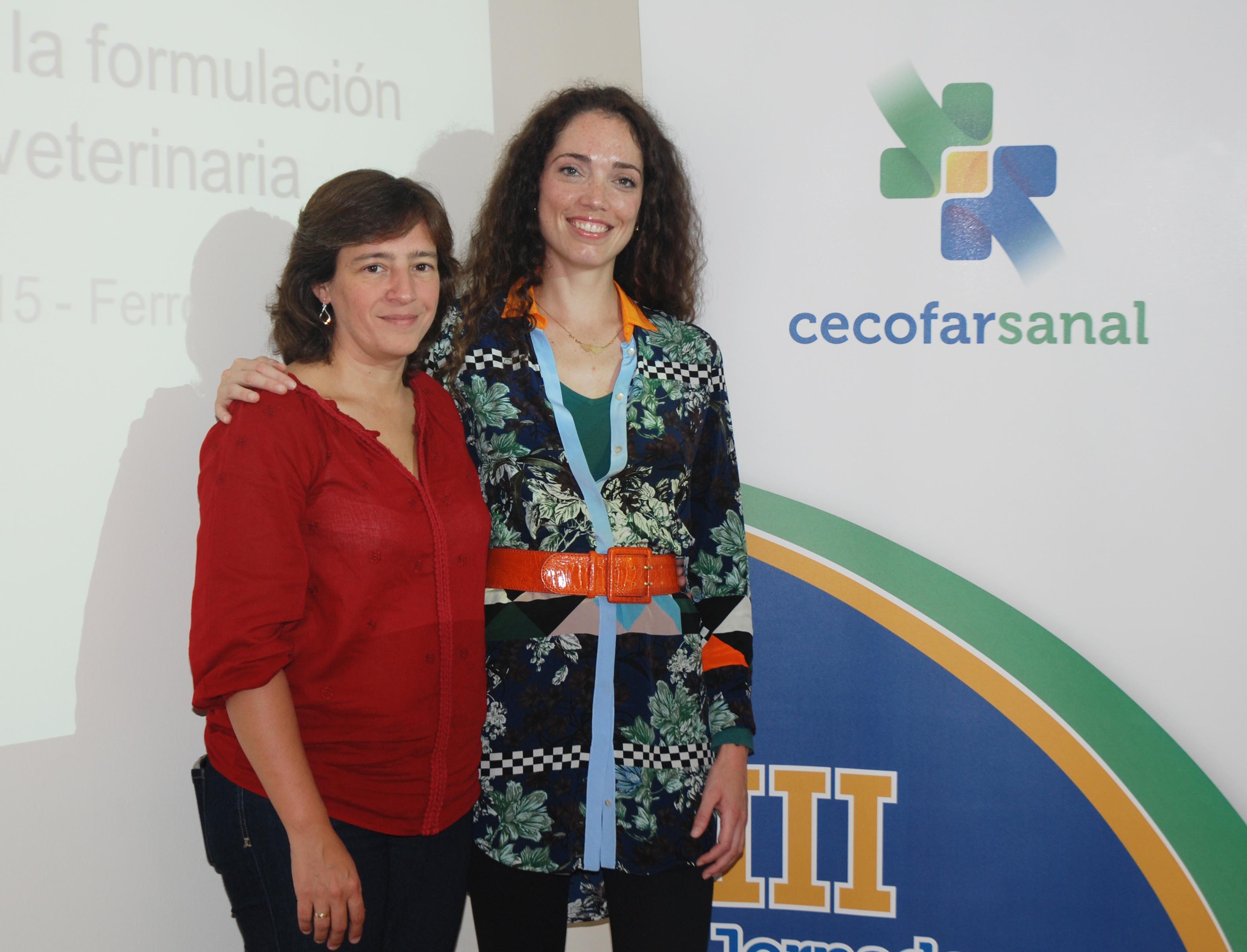Susana Miranda en representación de Cecofar con Alicia