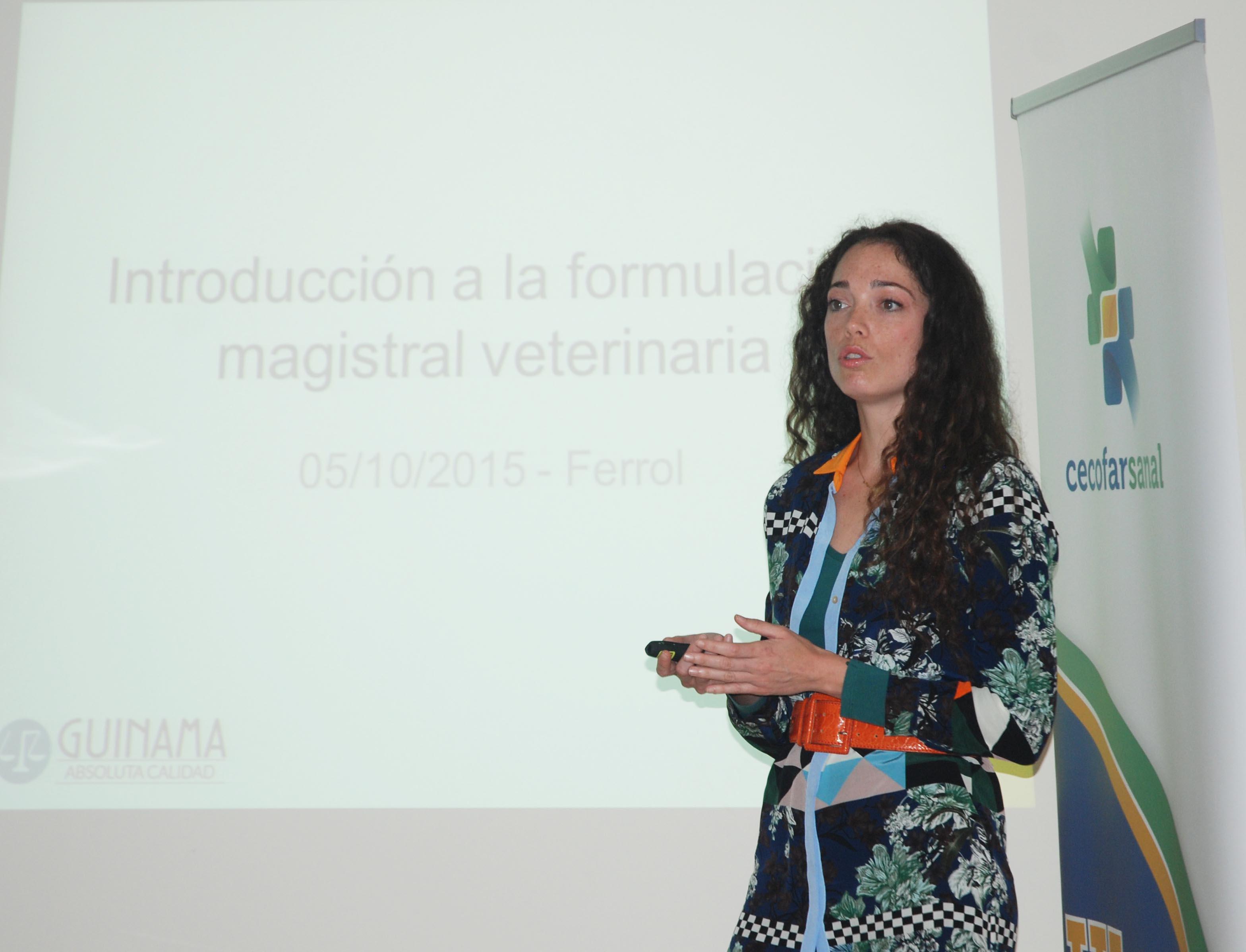 Alicia Navarro en la presentación del curso