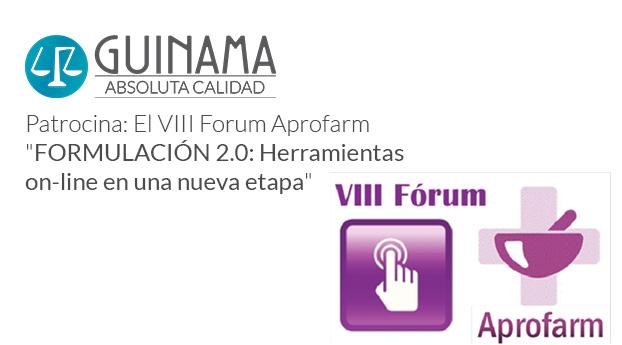 GUINAMA patrocina el próximo Forum organizado por Aprofarm.