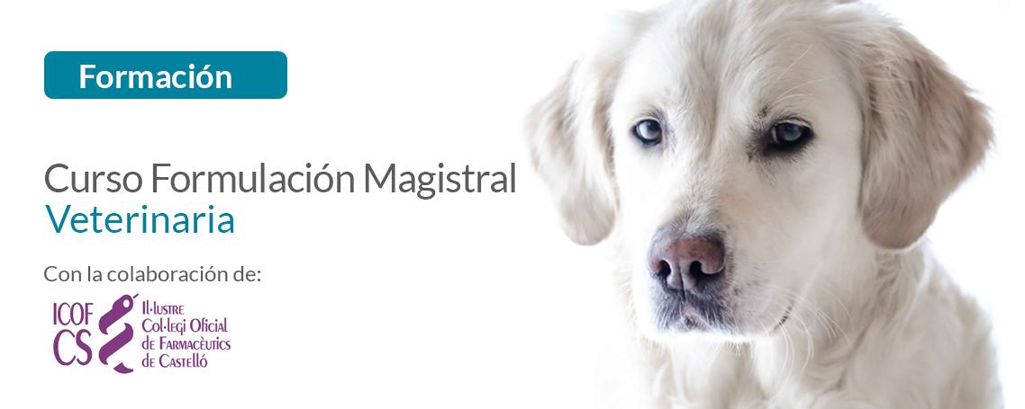 Curso de formulación magistral veterinaria GUINAMA en COF Castellón