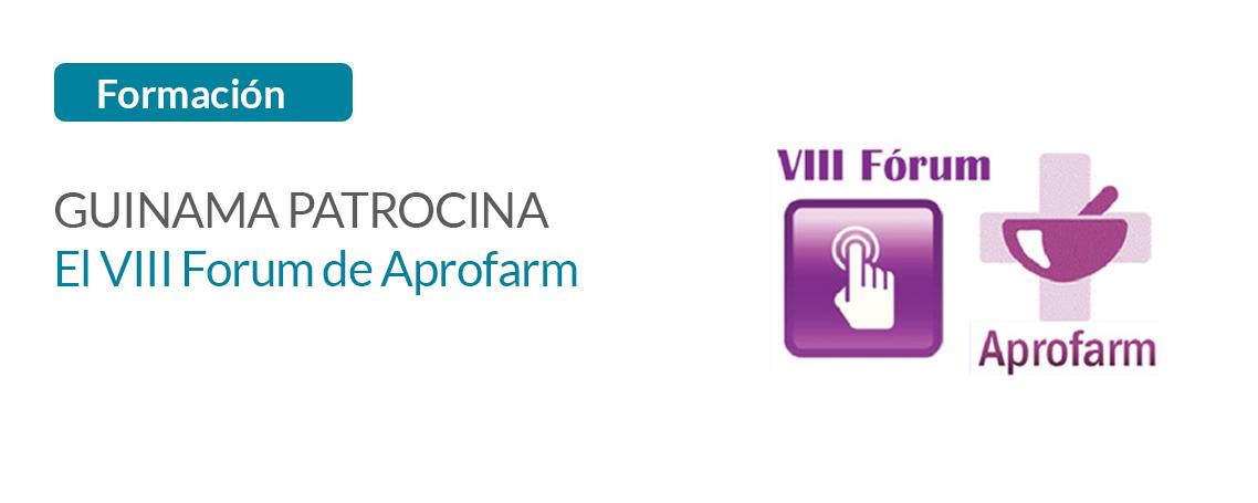 GUINAMA patrocina el próximo Forum organizado por Aprofarm