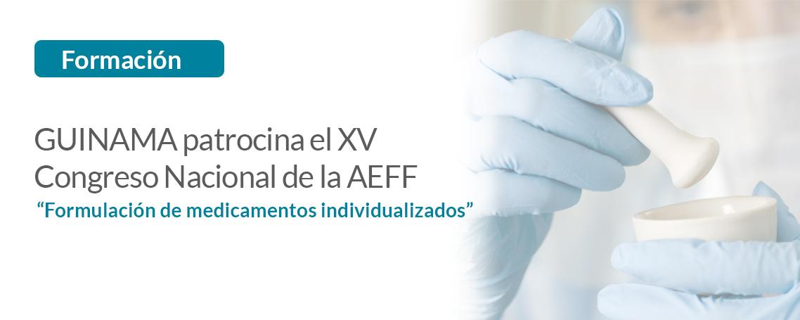 Guinama patrocina el XV Congreso Nacional de la AEFF