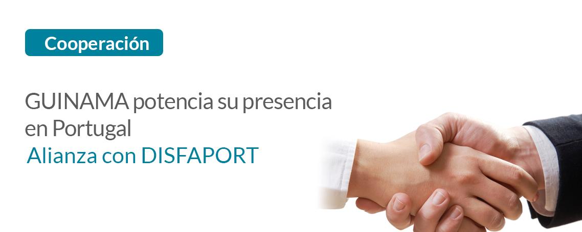 Guinama potencia  su presencia en Portugal gracias a la alianza con Disfaport
