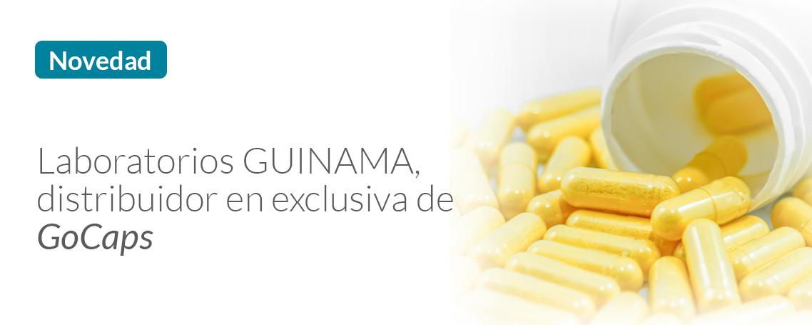 GUINAMA distribuidor en exclusiva de GoCaps para Farmacias de Portugal y España
