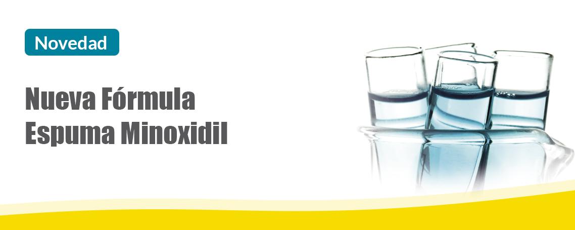 Nueva Fórmula Espuma Minoxidil