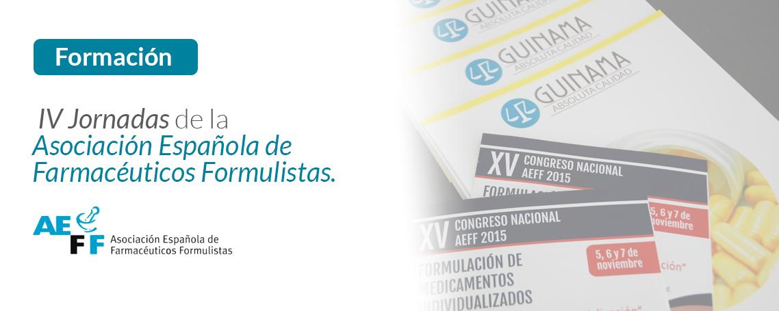 Guinama patrocina las jornadas AEFF en Albacete