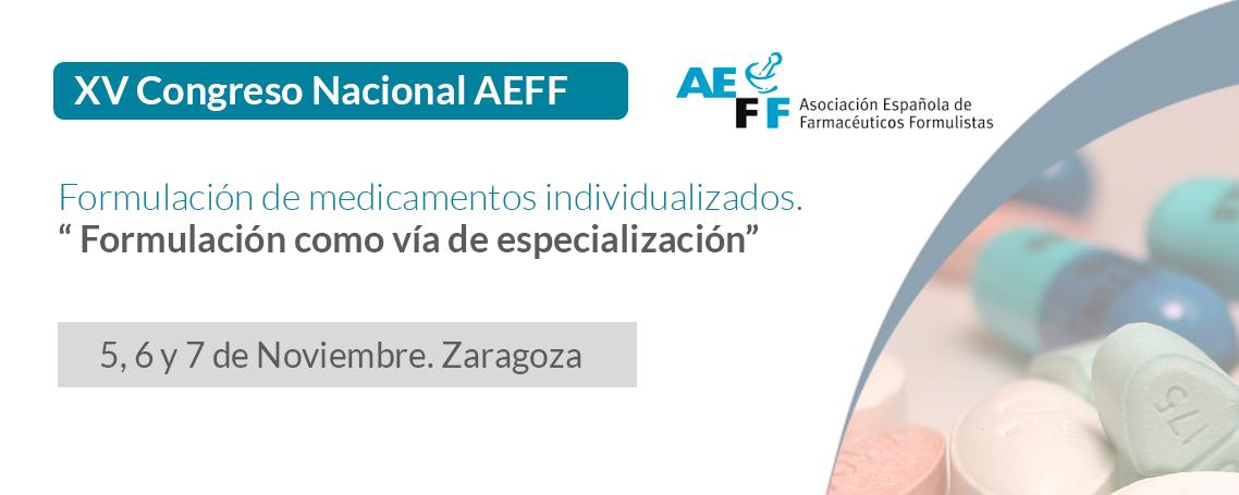 En tres días da comienzo el XV Congreso Nacional de la AEFF