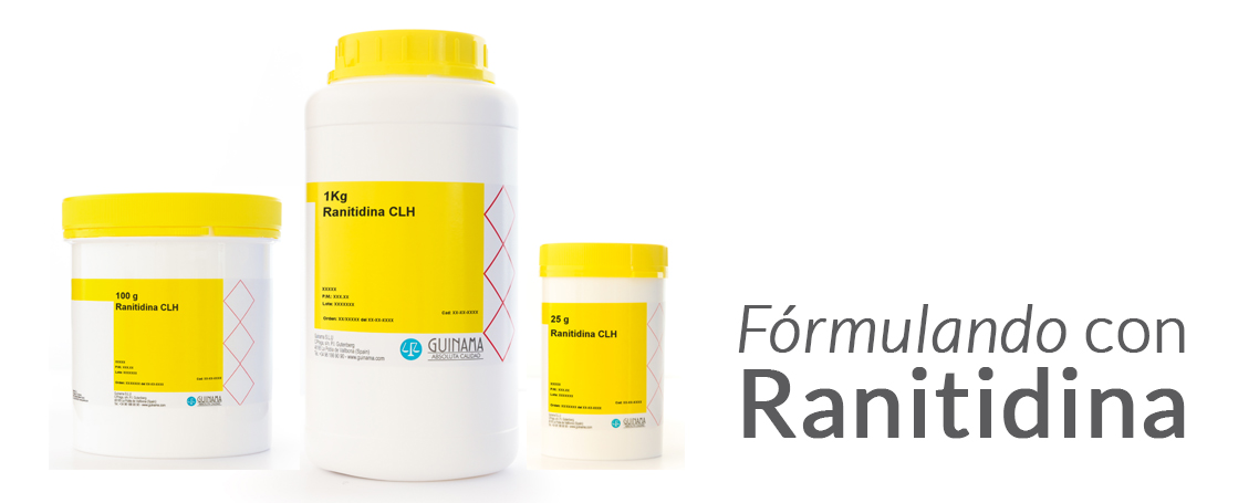 Formula tu propio jarabe con Ranitidina