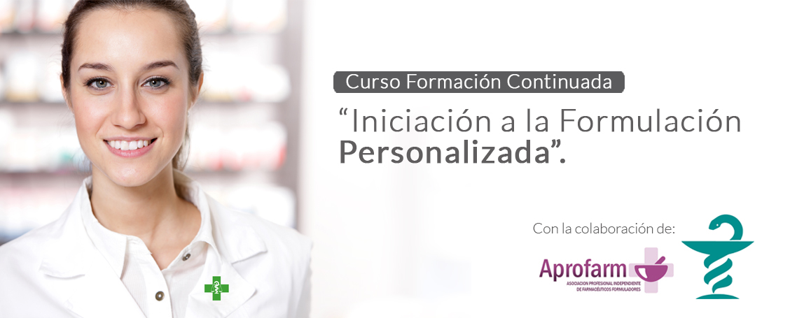 Arranca el curso de Iniciación a la Formulación Personalizada en Barcelona
