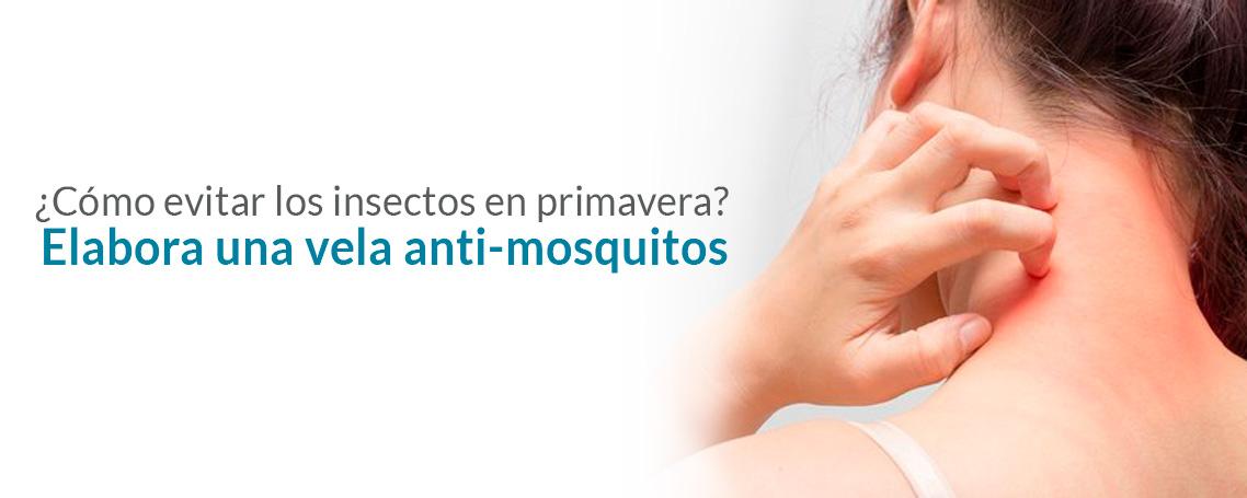 Elaboración de una vela anti-mosquitos