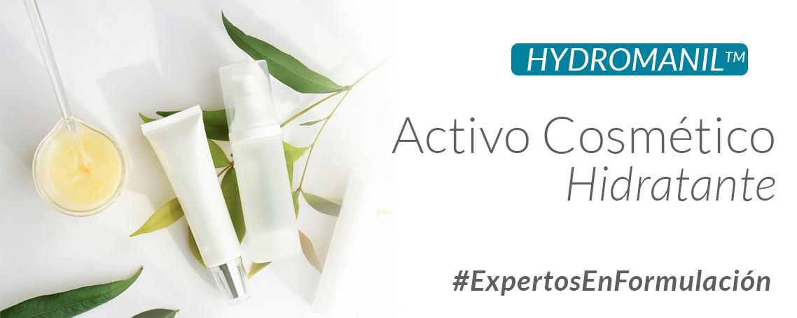 Conoce el novedoso activo hidrante Hydromanil
