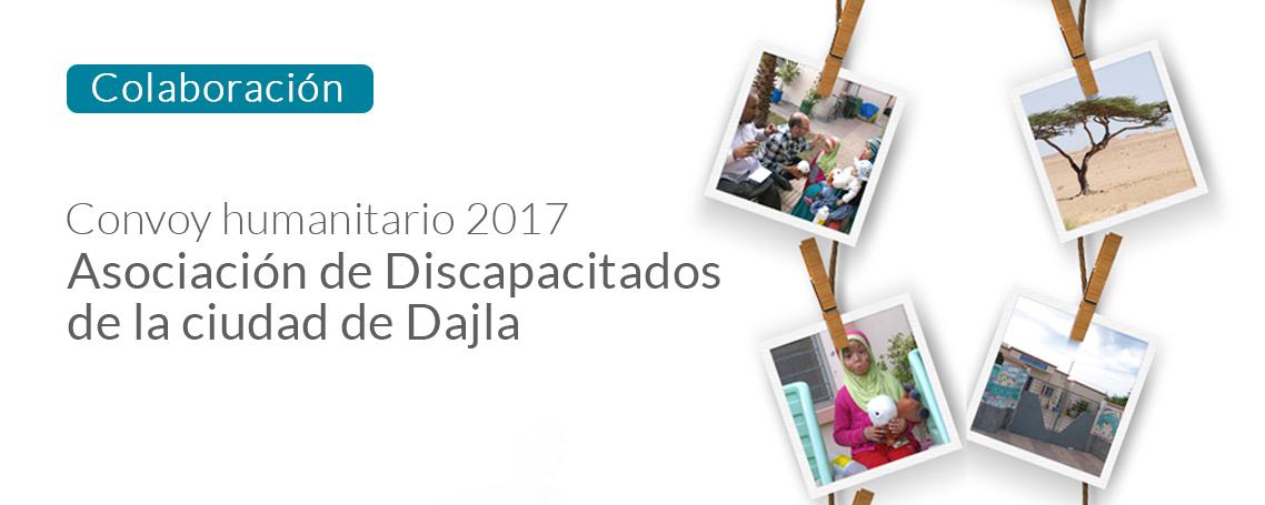 GUINAMA colabora la Asociación de Discapacitados de Dajla