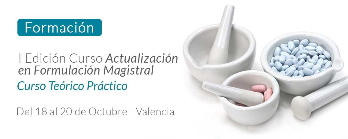 I Edición del Curso Actualización en Formulación Magistral
