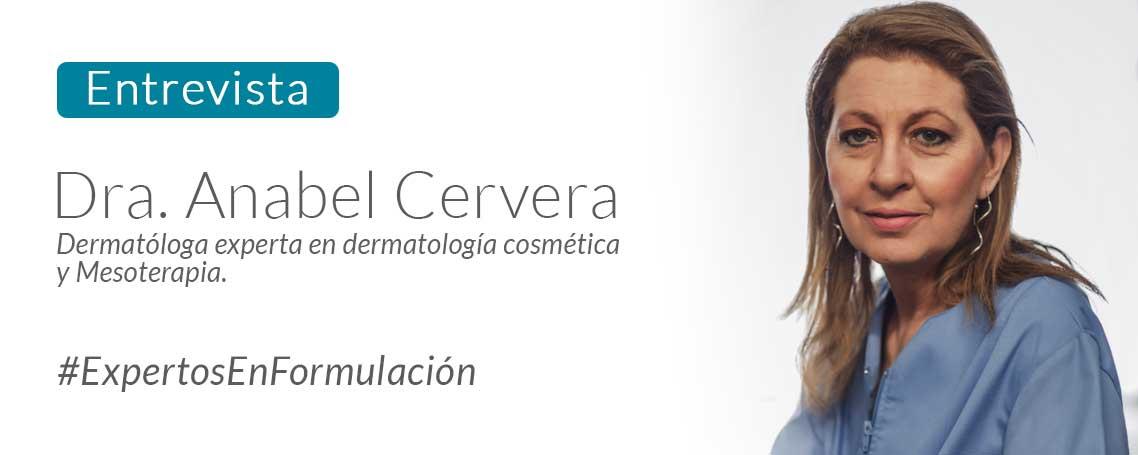 """Dra. Anabel Cervera: """"Desde el principio de mi ejercicio profesional yo ya era una formuladora"""""""