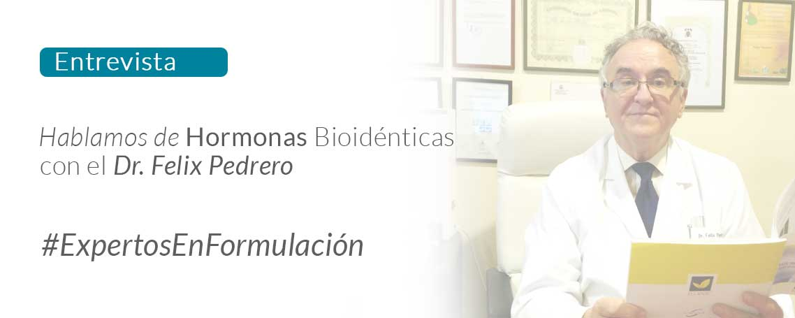 """Doctor Pedrero: """"Con la terapía del reemplazo hormonal conseguimos equilibrar las hormonas por dentro"""""""