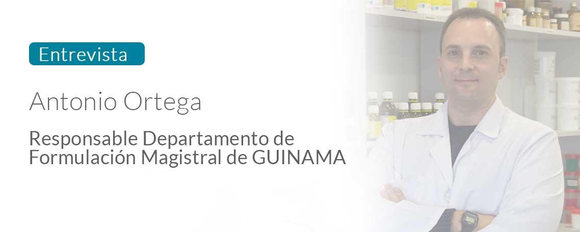 Entrevista con Antonio Ortega, responsable de Formulación Magistral de GUINAMA