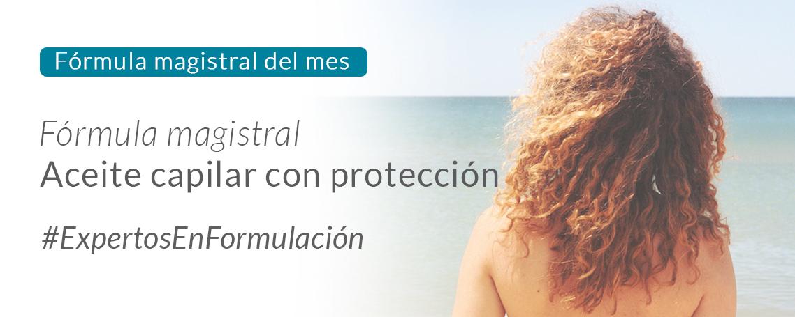 Fórmula del mes: Aceite capilar con protección