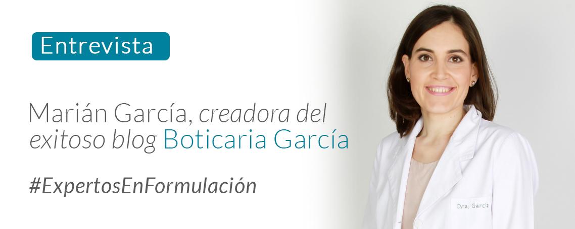 Pasión farmcaéutica: Hablamos con la conocida Boticaria García