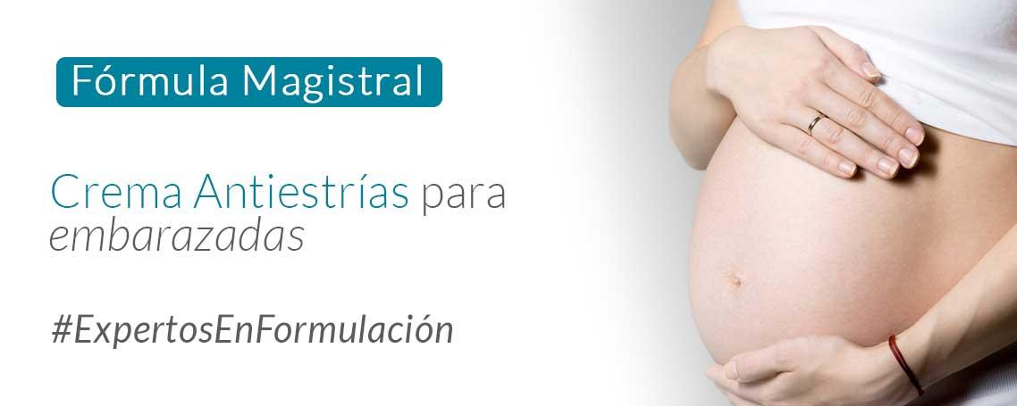 Fórmula magistral para embarazadas: Crema Antiestrías