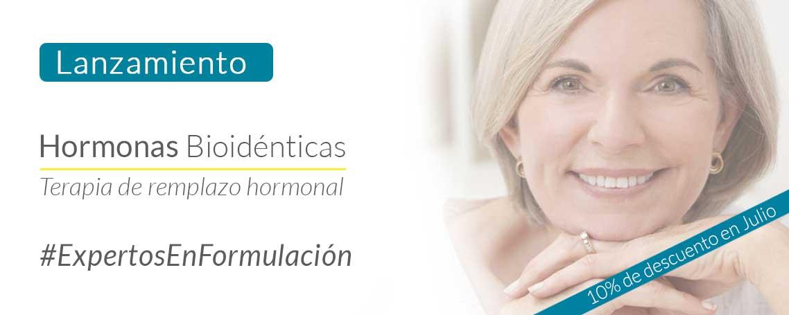 Este Julio: 10% de descuento en Hormonas Bioidénticas