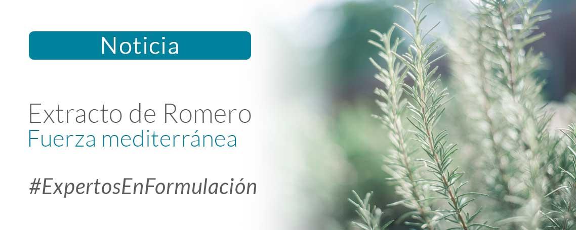 Extracto de Romero: Fuerza mediterránea