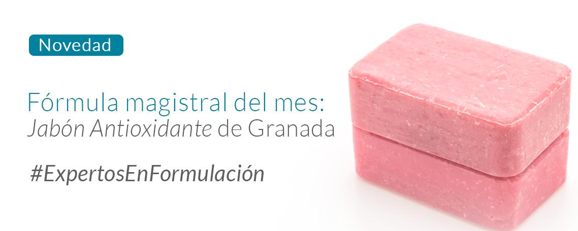 Fórmula del mes: Jabón Antioxidante de Granada