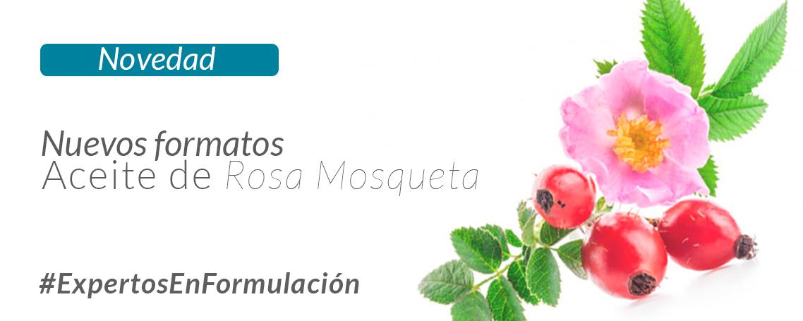 Novedad: Nuevos formatos mini de Aceite de Rosa Mosqueta