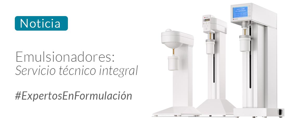 Emulsionadores: Mejoras en nuestro servicio técnico de reparación.