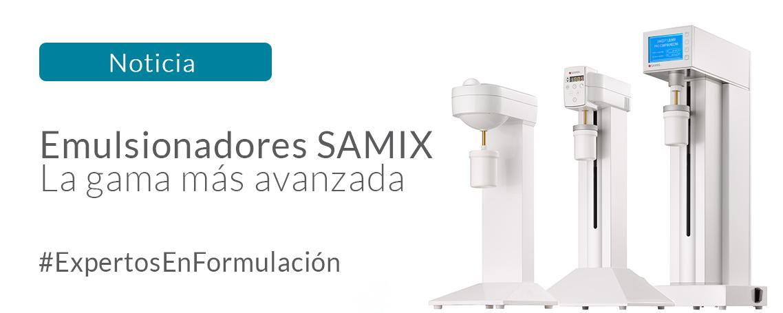 Samix: la gama más avanzada de emulsionadores