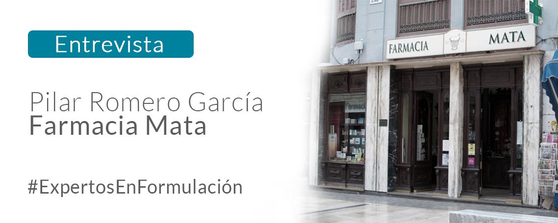 Charlamos con Pilar Romero García, de la conocida Farmacia Mata en Málaga