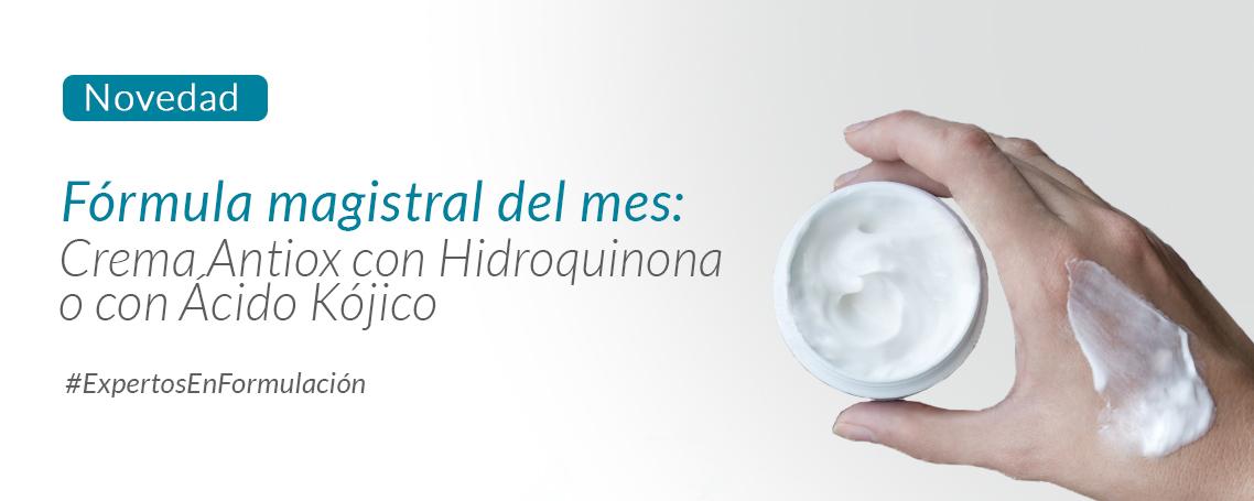 Fórmula del mes: tratamiento del melasma y las manchas del rostro