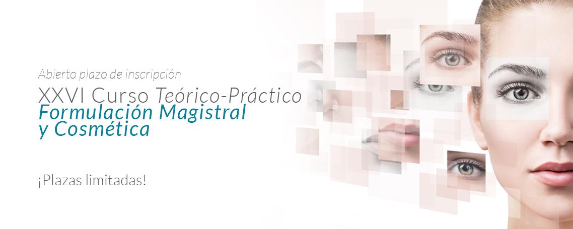 XXVI Curso Teórico-Práctico Formulación Magistral y Cosmética