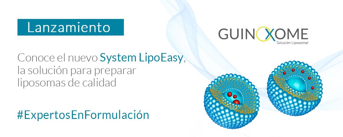 GuinoXome, la solución definitiva para la elaboración de liposomas de calidad