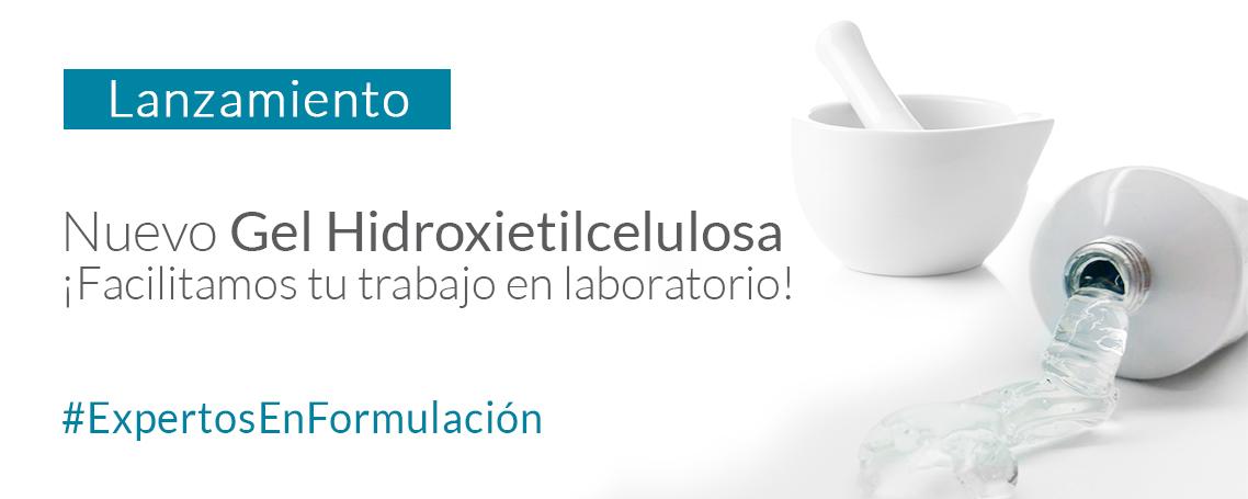Gel Hidroxietilcelulosa, necesario en tus formulaciones