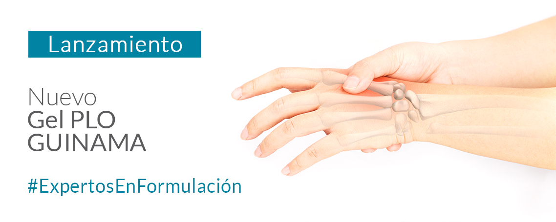 GEL PLO GUINAMA, gel transdermal con mayor penetración de activos