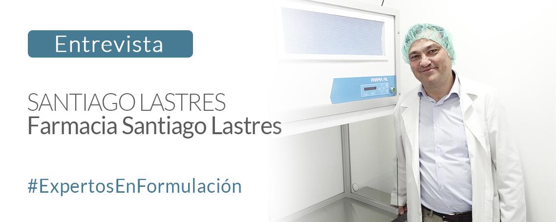 Entrevista a Santiago Lastres, titular Farmacia Santiago Lastres