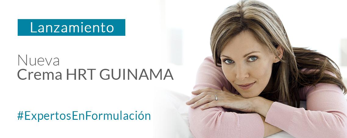 Crema HRT GUINAMA, una crema para la Terapia Homonal de Reemplazo