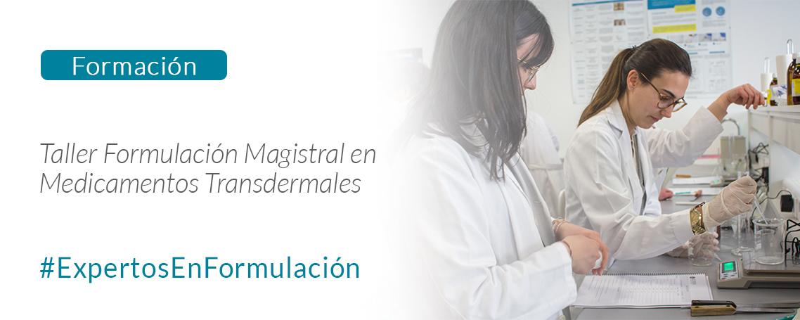 Taller de formulación magistral de medicamentos transdermales
