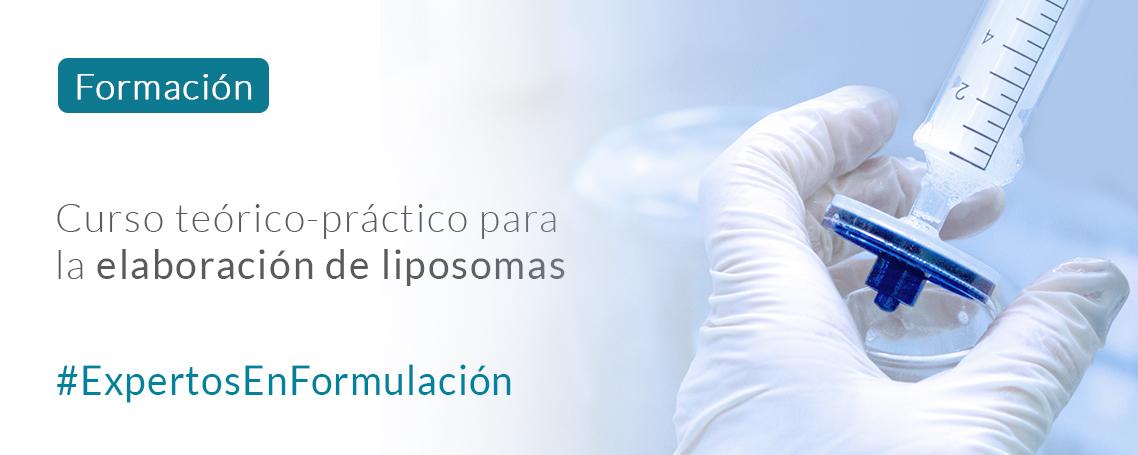 Formación: Curso teórico-práctico para la elaboración de liposomas