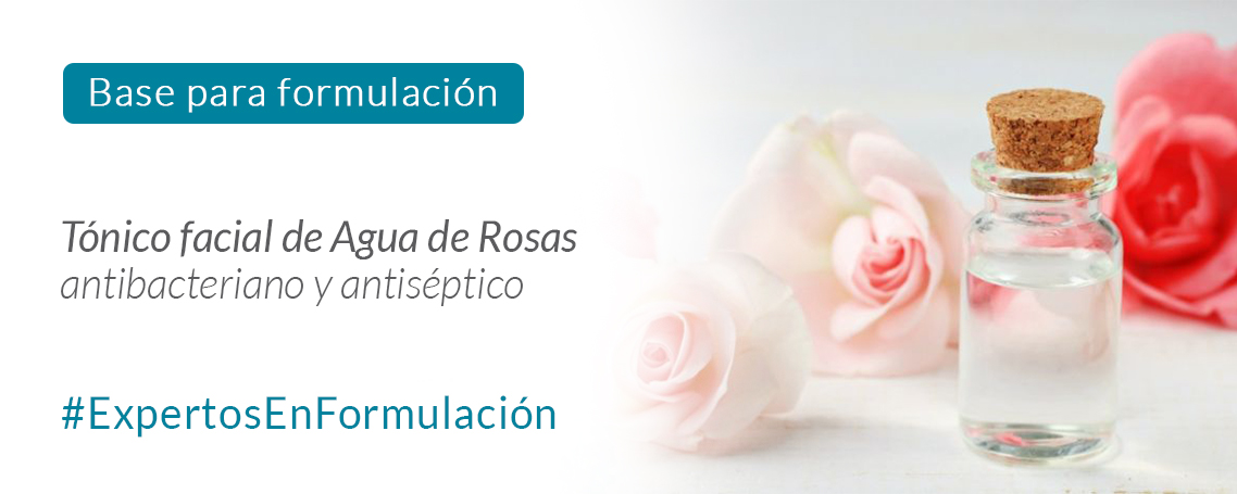 Fórmula Magistral de Tónico facial de Agua de Rosas