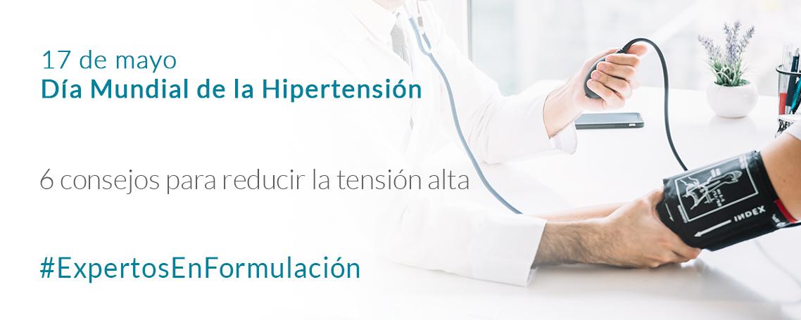 6 Consejos para reducir la hipertensión