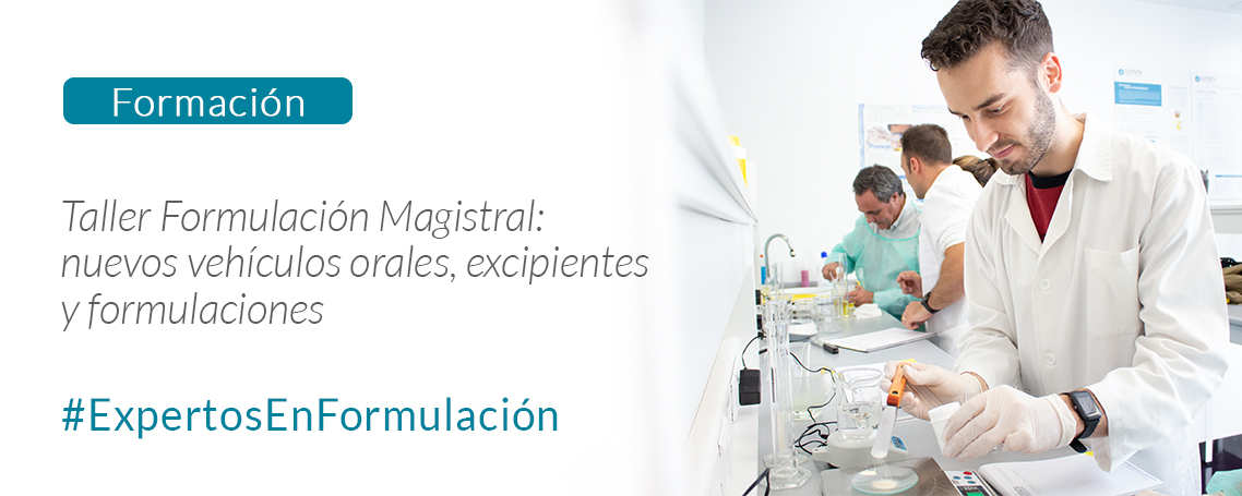 Formación: nuevos vehículos orales, excipientes y formulaciones en MICOF Paterna